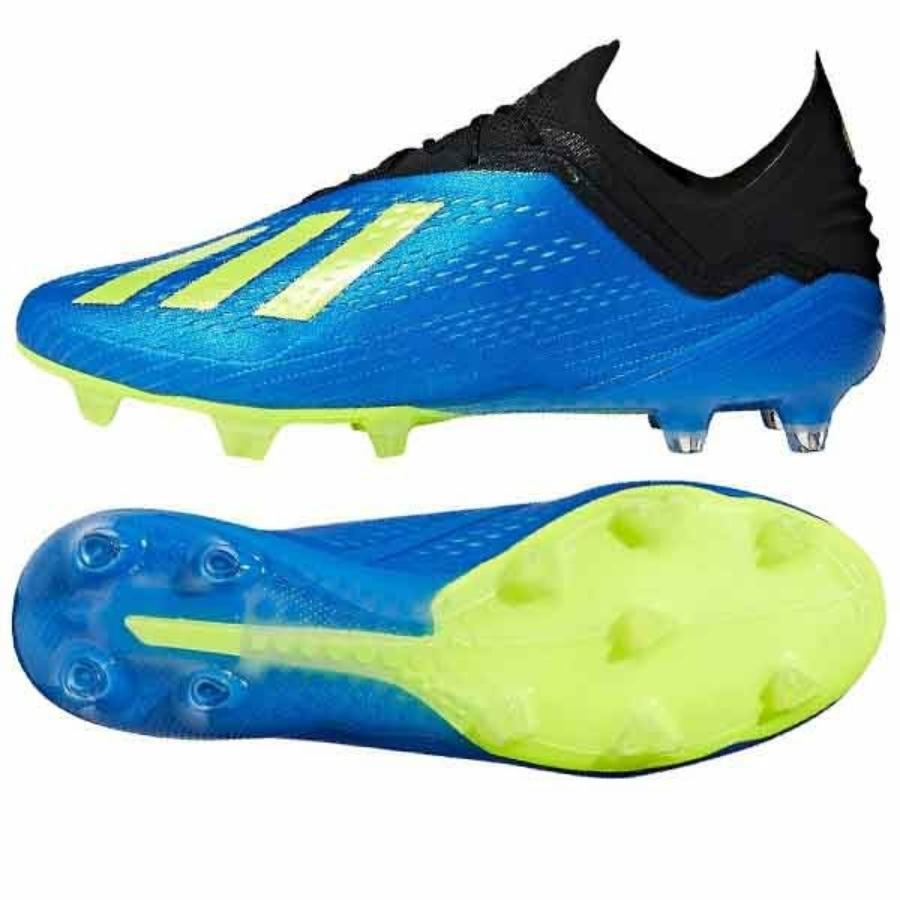 Kép 1/3 - Adidas X 18.1 FG stoplis cipő - kék
