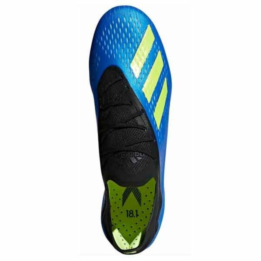Kép 3/3 - Adidas X 18.1 FG stoplis cipő - kék 2