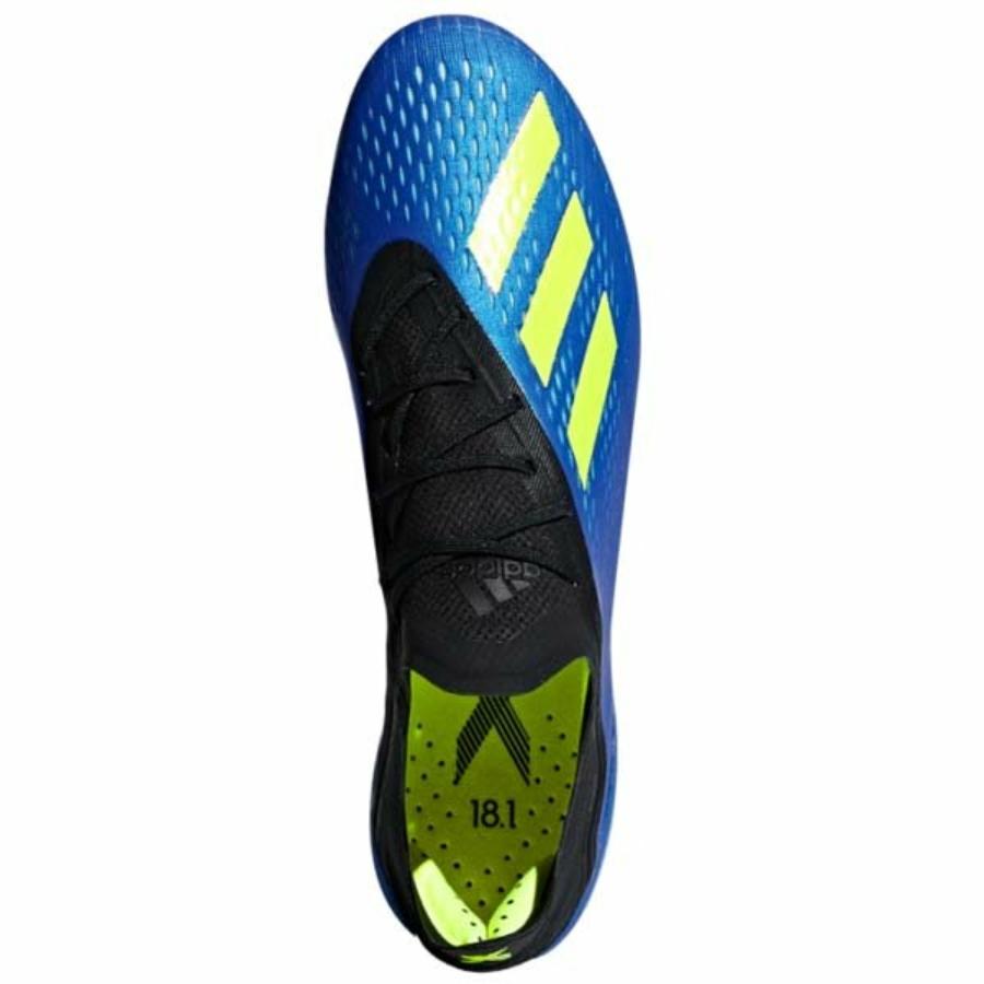 Kép 3/3 - Adidas X 18.1 SG féléles cipő - kék -neonsárga 2
