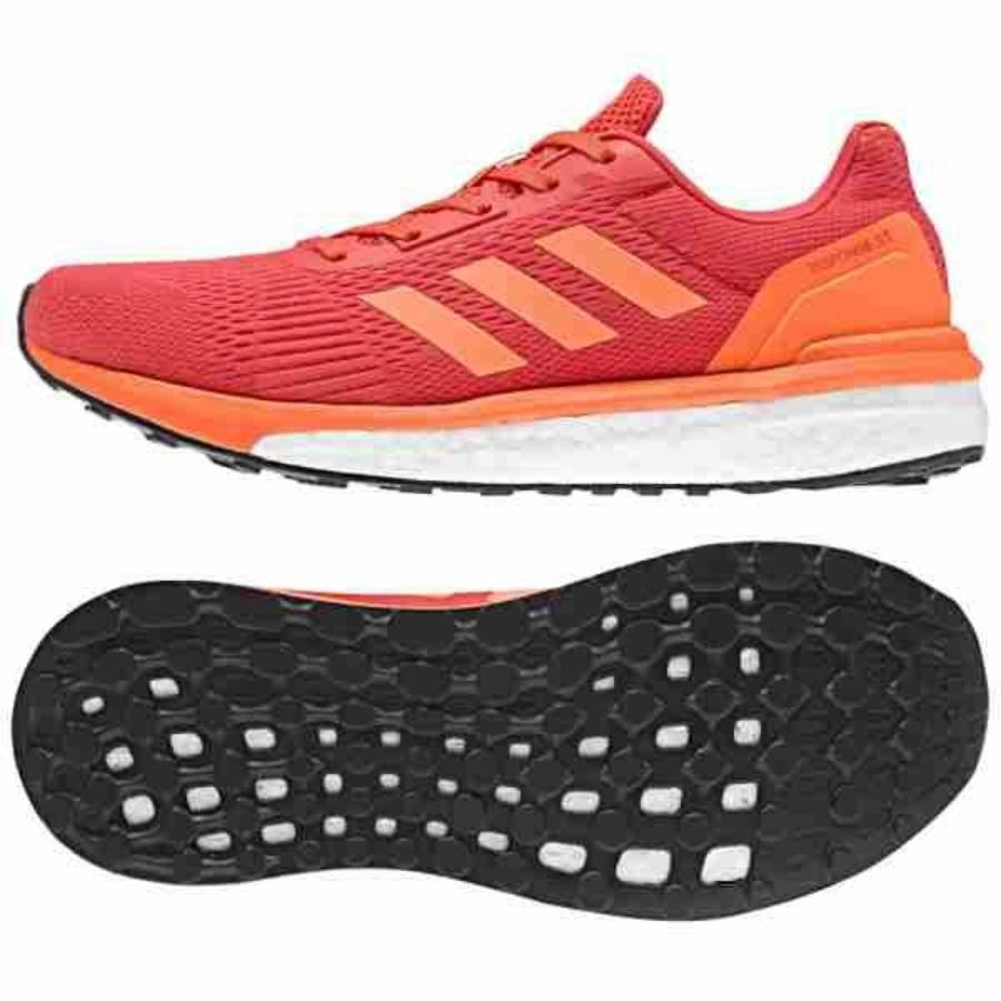 Kép 1/4 - Adidas Response ST W női futócipő - piros - narancssárga