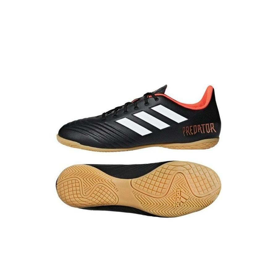 Kép 1/4 - Adidas Predator Tango 18.4 Férfi teremcipő - fekete-piros-fehér