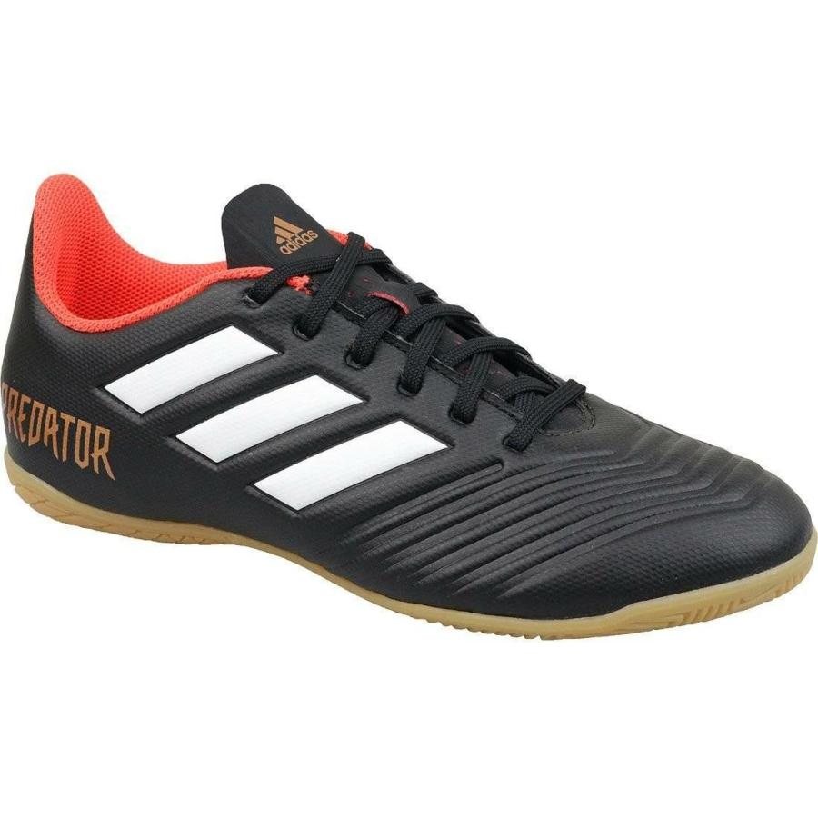 Kép 2/4 - Adidas Predator Tango 18.4 Férfi teremcipő - fekete-piros-fehér 1