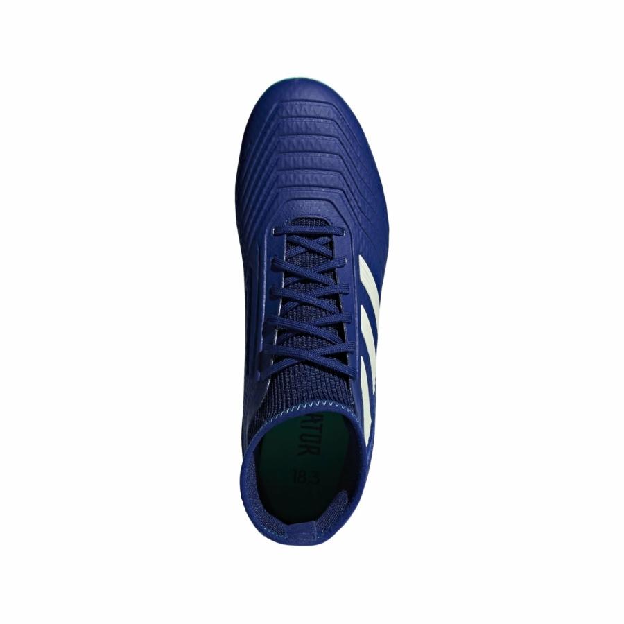 Kép 3/5 - Adidas Predator 18.3 AG stoplis cipő - kék 2