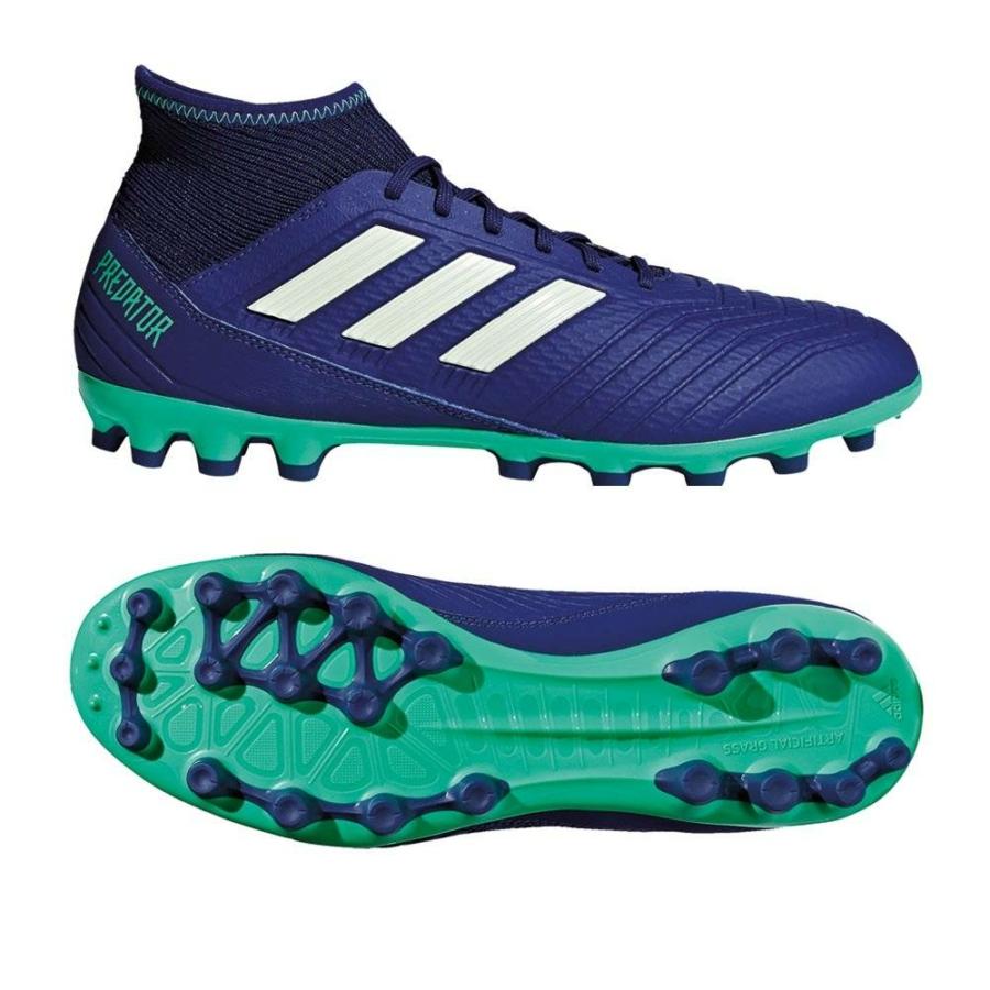 Kép 4/5 - Adidas Predator 18.3 AG stoplis cipő - kék 3