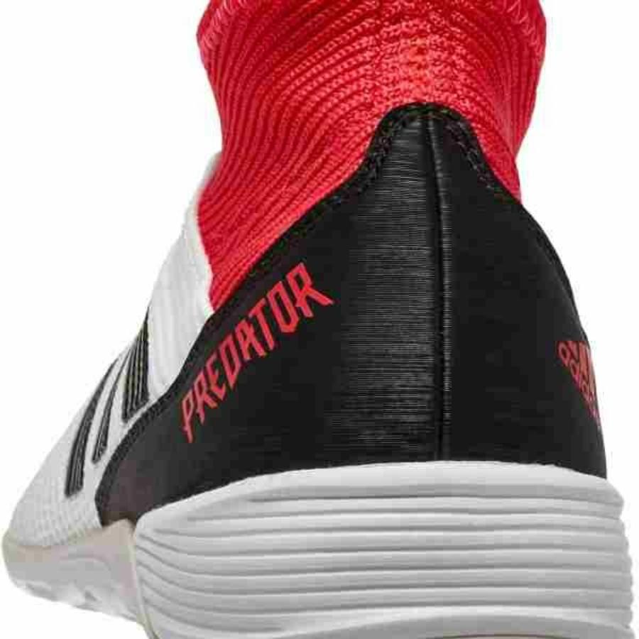 Kép 2/4 - Adidas Predator Tango 18.3 Férfi teremcipő - fehér-piros-fekete 1