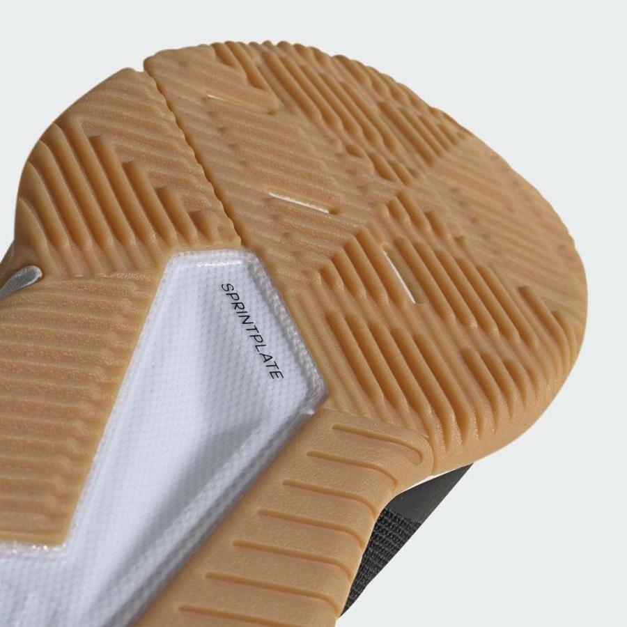 Kép 4/8 - Adidas Crazyflight Team fekete röplabda cipő 3