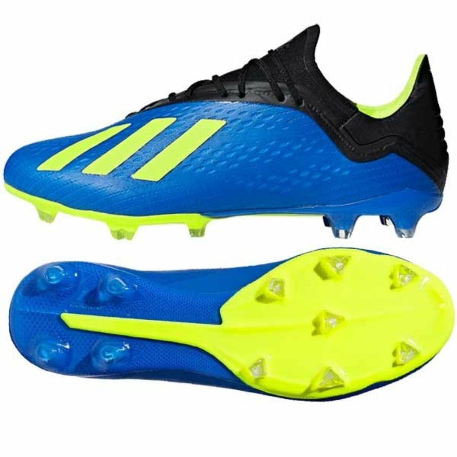 Kép 1/3 - Adidas X 18.2 FG stoplis cipő - kék