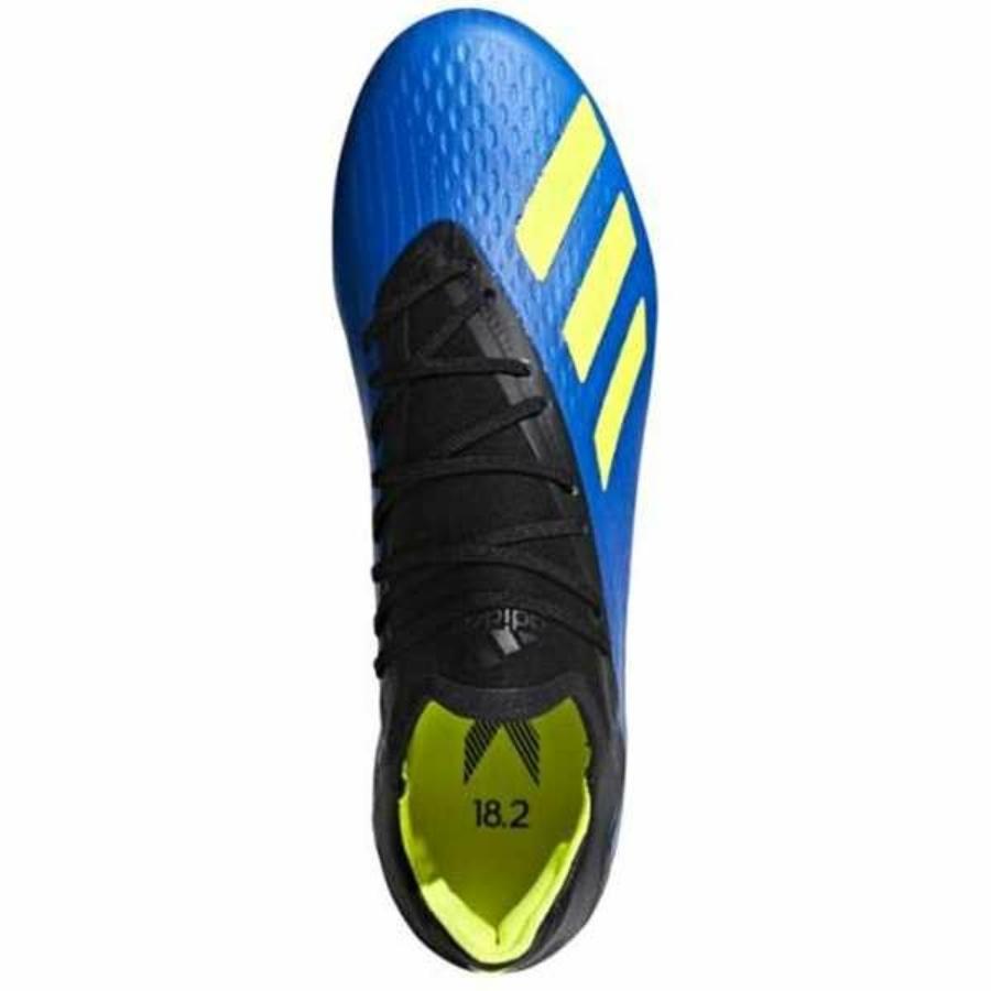 Kép 3/3 - Adidas X 18.2 FG stoplis cipő - kék 2