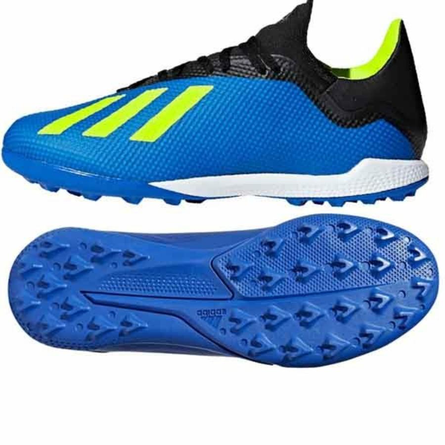 Kép 1/3 - Adidas X Tango 18.3 TF műfüves cipő - kék
