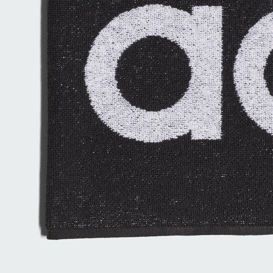 Kép 3/4 - Adidas Törölköző fekete L 2