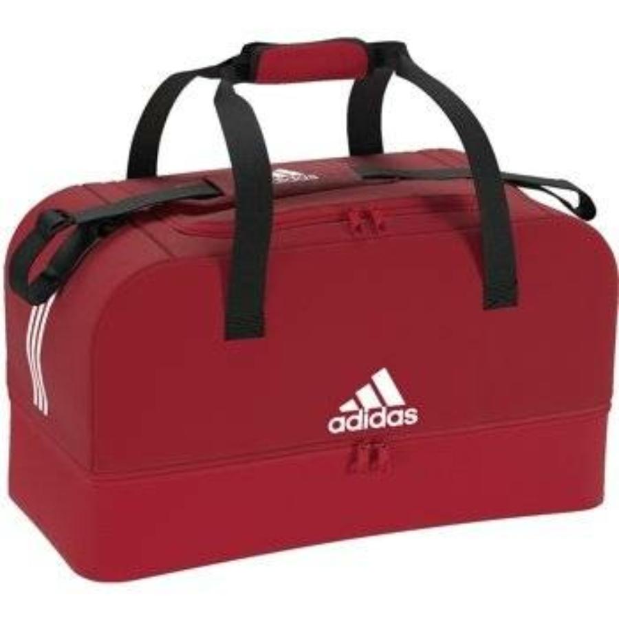 Kép 1/5 - ADIDAS Tiro 19 táska alsó tárolóval, M-es piros