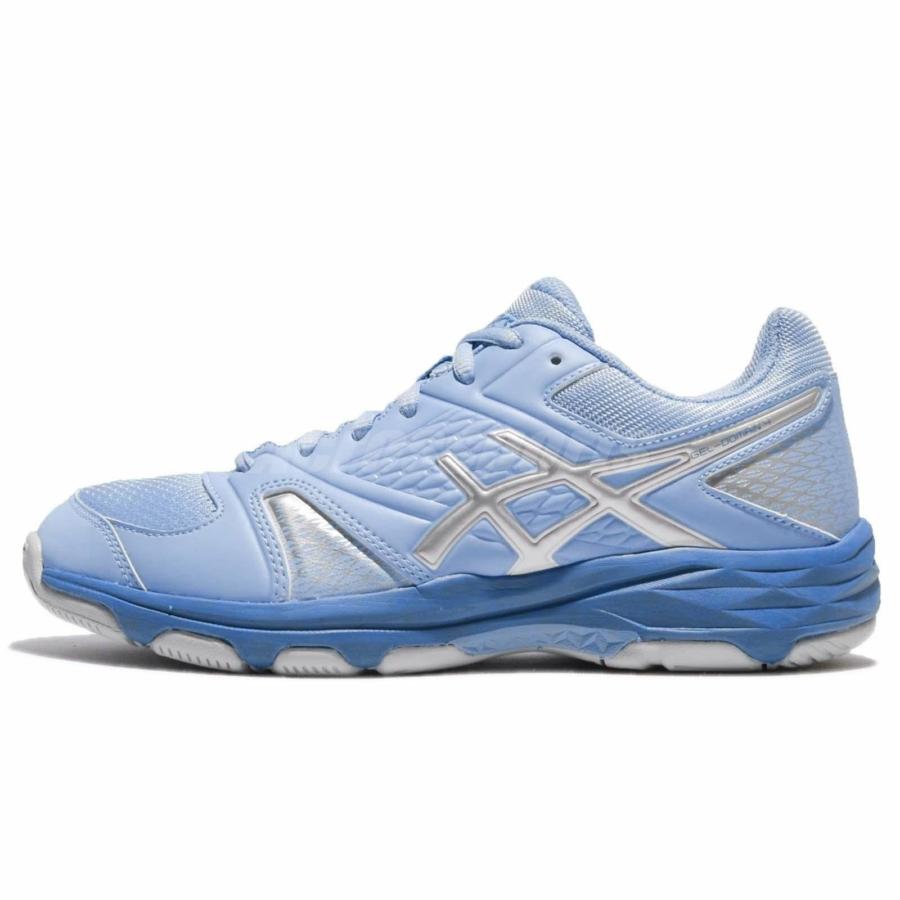Kép 2/4 - Asics Gel-Domain női kézilabda cipő - kék-szürke-fehér 1