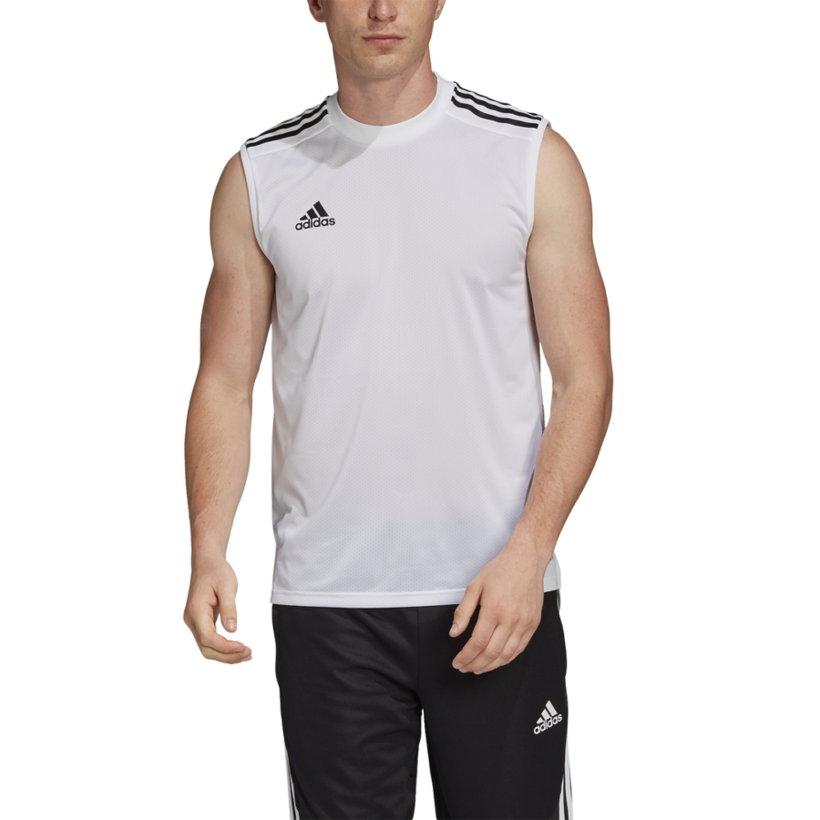 Kép 1/5 - Adidas Condivo 20 ujjatlan póló felnőtt fehér