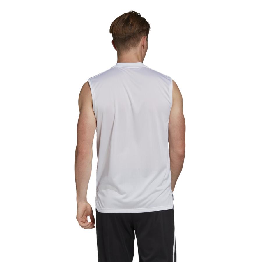 Kép 2/5 - Adidas Condivo 20 ujjatlan póló felnőtt fehér 1