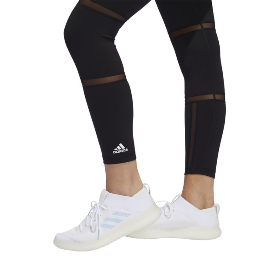 Kép 3/5 - ADIDAS BT GEO MSH L T fekete női futónadrág 2