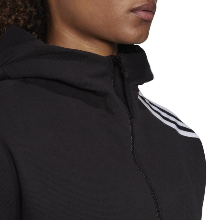Kép 2/5 - ADIDAS W ZNE HD fekete női melegítő felső 1