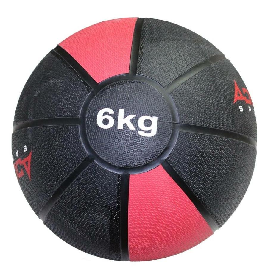 Kép 1/2 - Adler Sport pattanó medicinlabda - PVC, 6kg-os