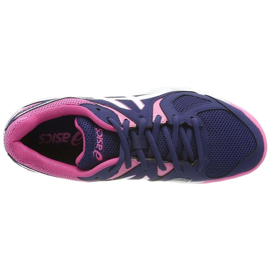 Kép 2/3 - Asics Gel-Hunter 3 női kézilabda cipő - indigókék-fehér-pink 1