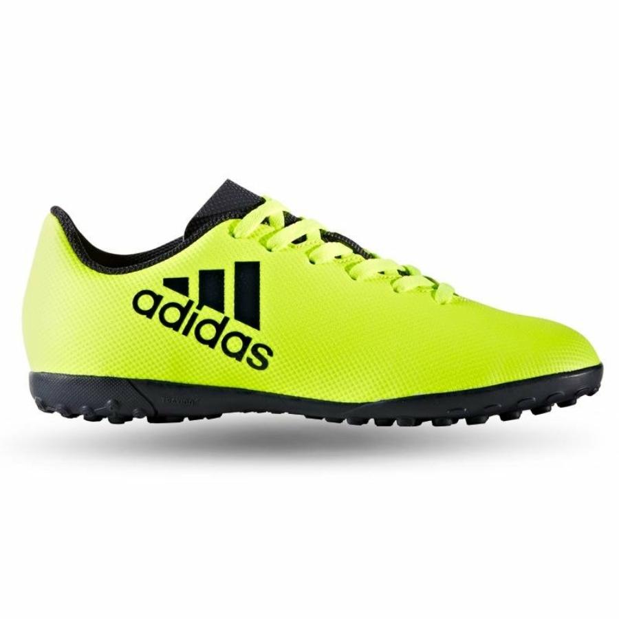Kép 1/4 - ADIDAS X17.4 gyerek műfüves cipő - sárga-fekete