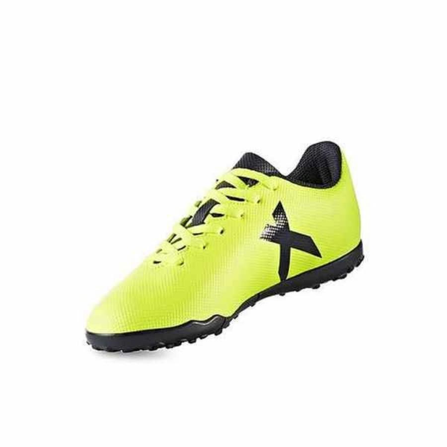 Kép 2/4 - ADIDAS X17.4 gyerek műfüves cipő - sárga-fekete 1
