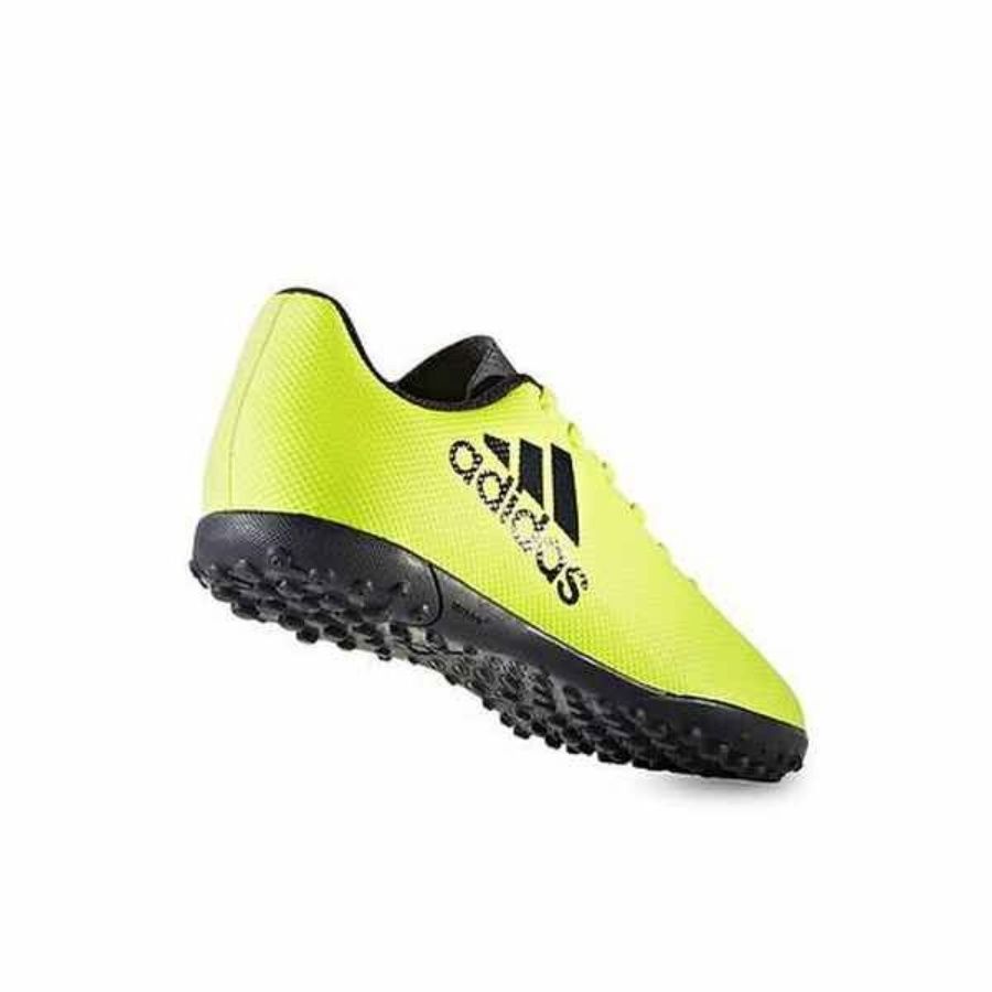 Kép 3/4 - ADIDAS X17.4 gyerek műfüves cipő - sárga-fekete 2