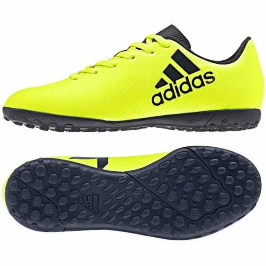 Kép 4/4 - ADIDAS X17.4 gyerek műfüves cipő - sárga-fekete 3