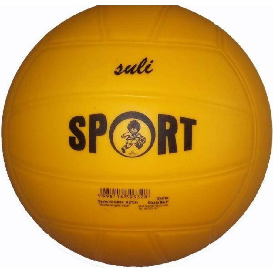 Kép 1/1 - Plasto Suli Sport gumi foci gyakorló labda