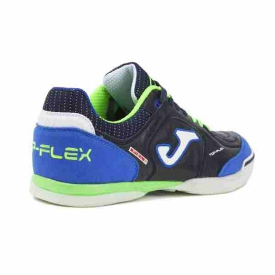 Kép 2/3 - Joma Top Flex 803 Férfi teremcipő - kék-zöld 1
