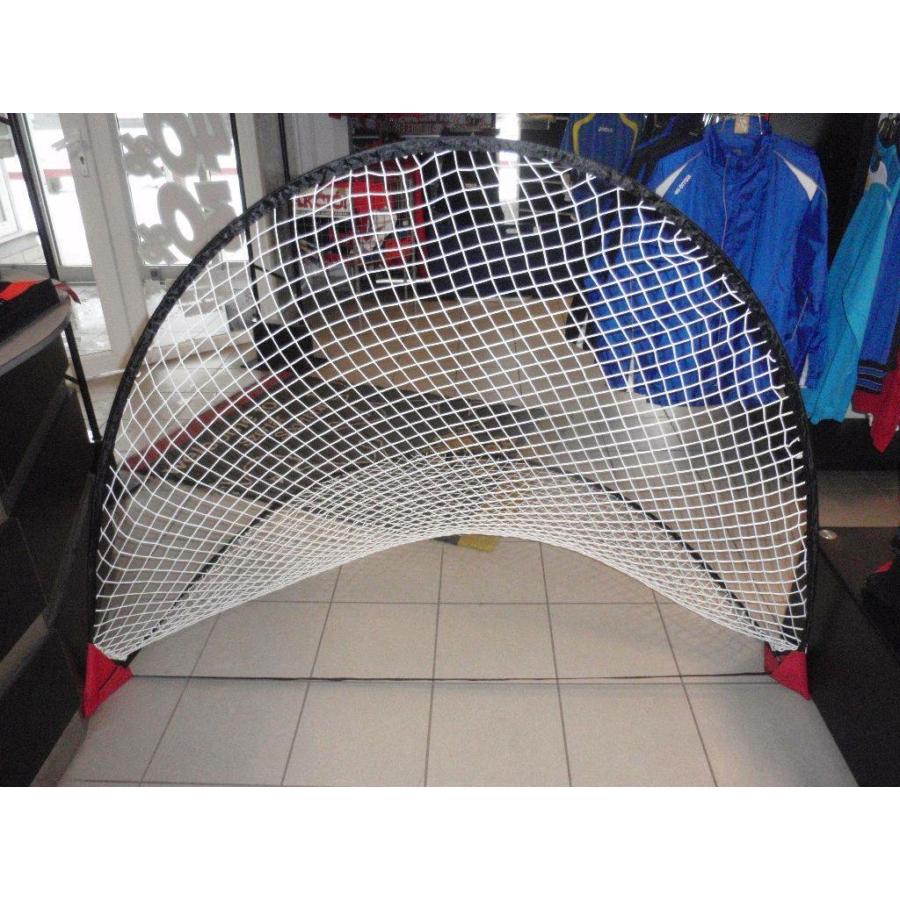 Kép 1/1 - Félkör alakú önfelállítós kapu hálóval - 1 pár/csomag