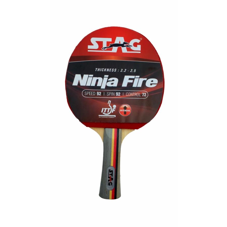 Kép 1/1 - TTRA-140 Stag Ninja Fire ping-pong ütő