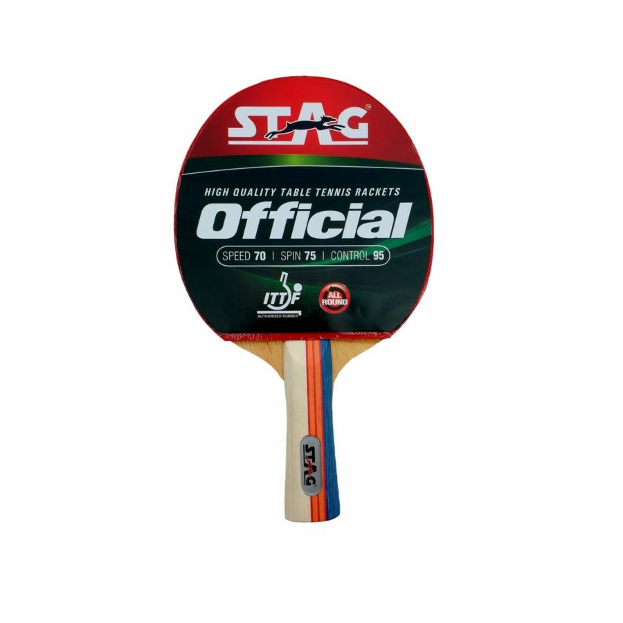Kép 1/1 - TTRA-280 Stag Official ping-pong ütő