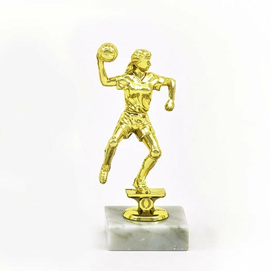 Kép 1/1 - Kézilabda figura női - 13 cm magas